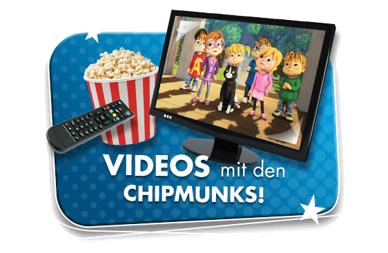 Videos mit den Chipmunks